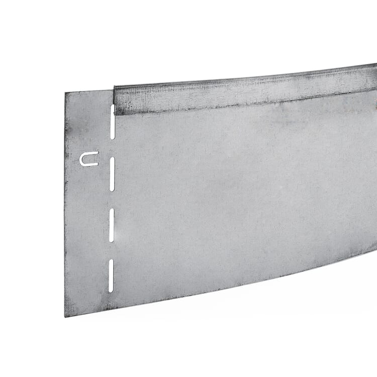 Rasenkante Stahl verzinkt