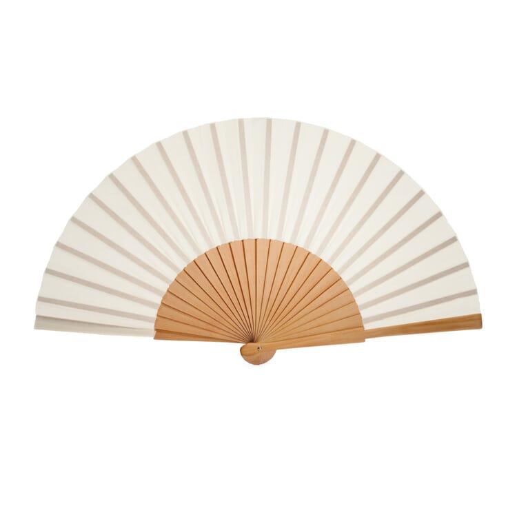 Pear-Wood Fan, Beige
