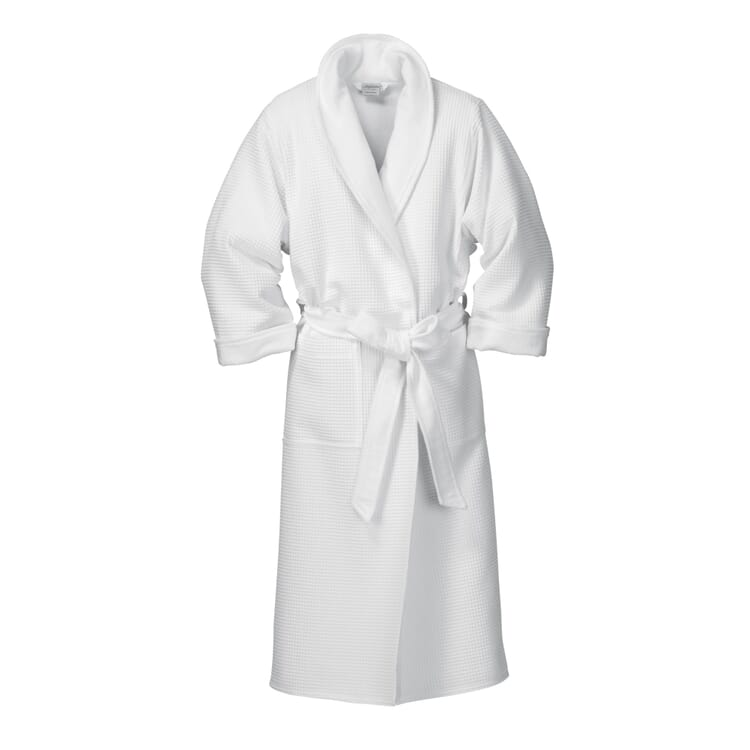 Gentlemen's Honeycomb Piqué and Terry Dressing-gown