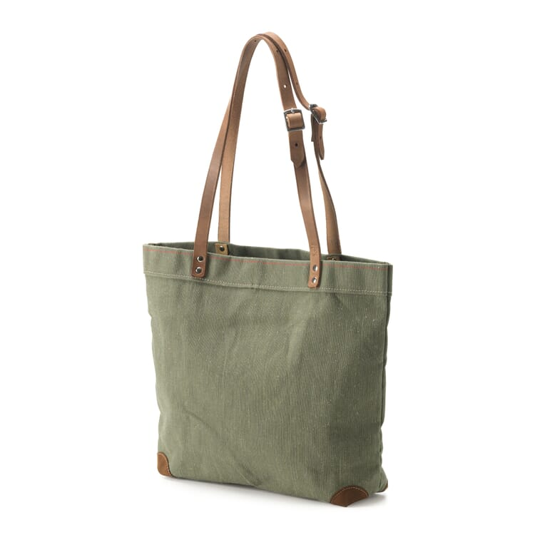 Handbag Made of Canvas, Green