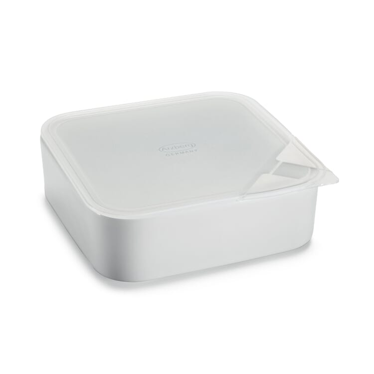 Arzberg Porcelain Storage Containers, Square Medium