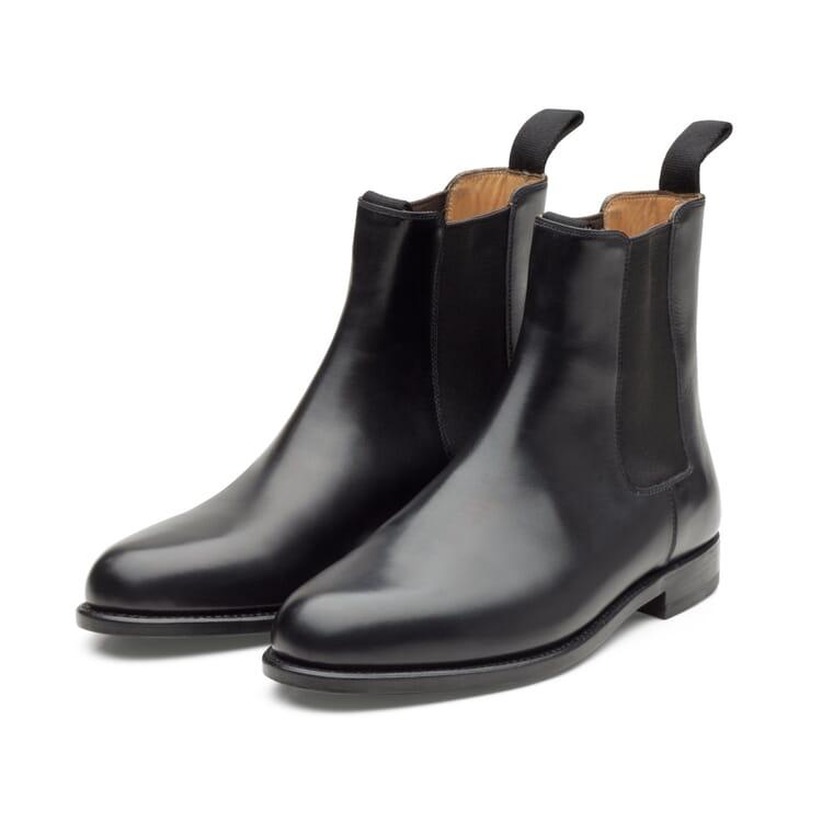 Damen-Chelsea-Boot, Schwarz