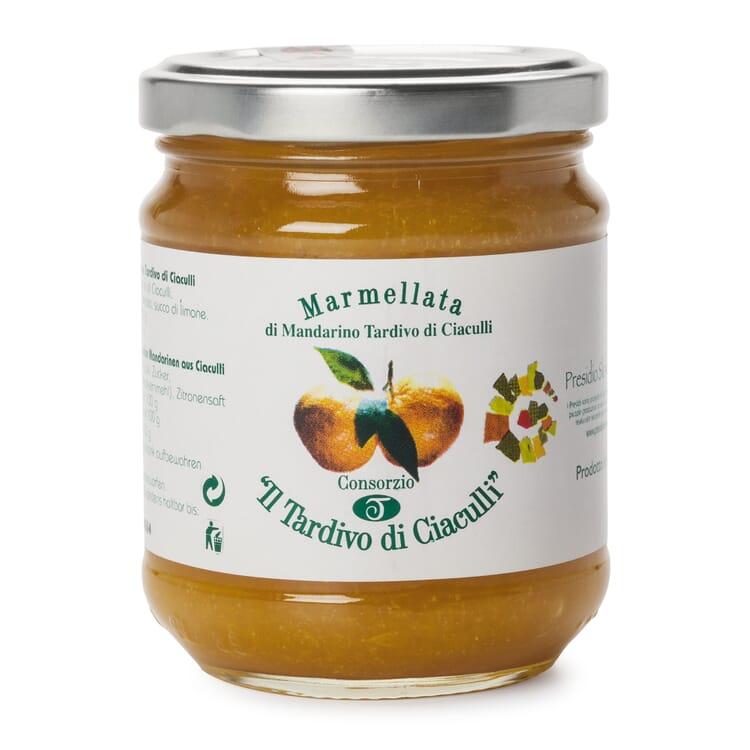 Sizilianischer Mandarinenfruchtaufstrich