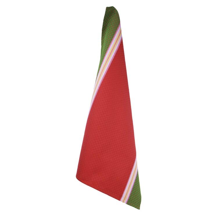 Geschirrtücher Karo Rot/Grün