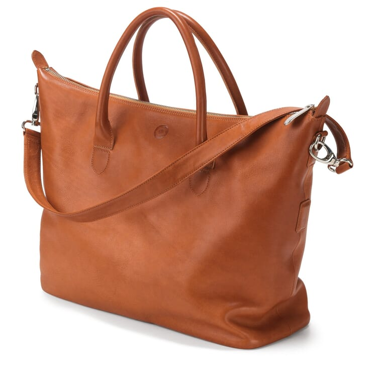 Ladies' Red-tan Leather Bag, Nature