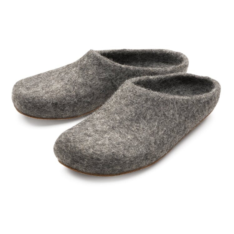 Gottstein Tiroler Steinschaf Felt Slipper Grey