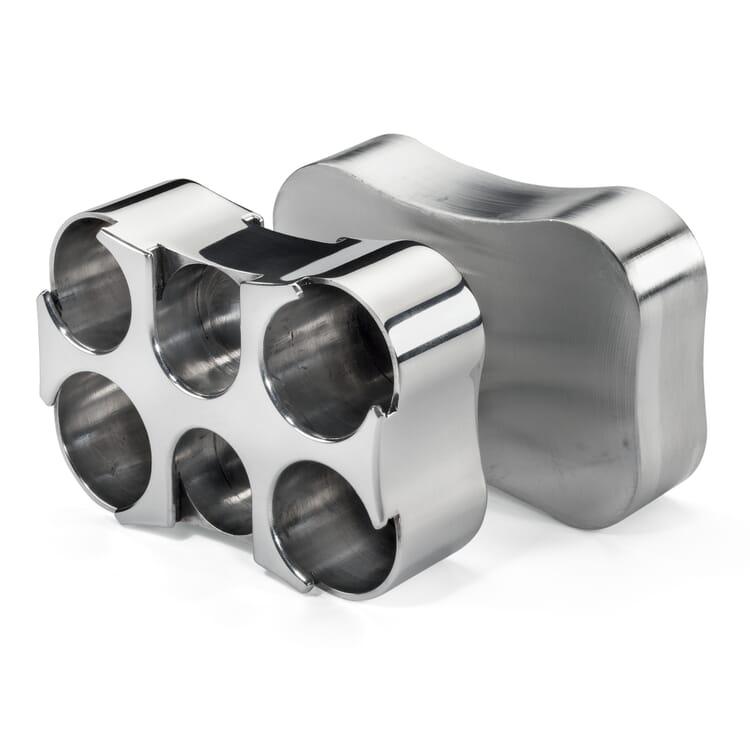 Aluminium coin box