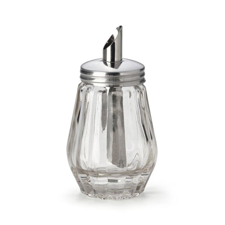 Zuckerstreuer Glas Klein
