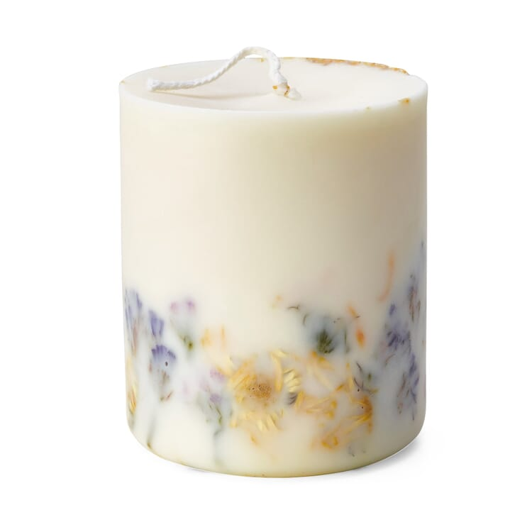 Kerze mit Duft, Rosen