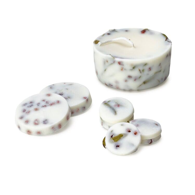 Geschenkset Kerze mit Duft Lavendel