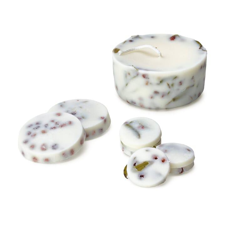 Geschenkset Kerze mit Duft, Lavendel
