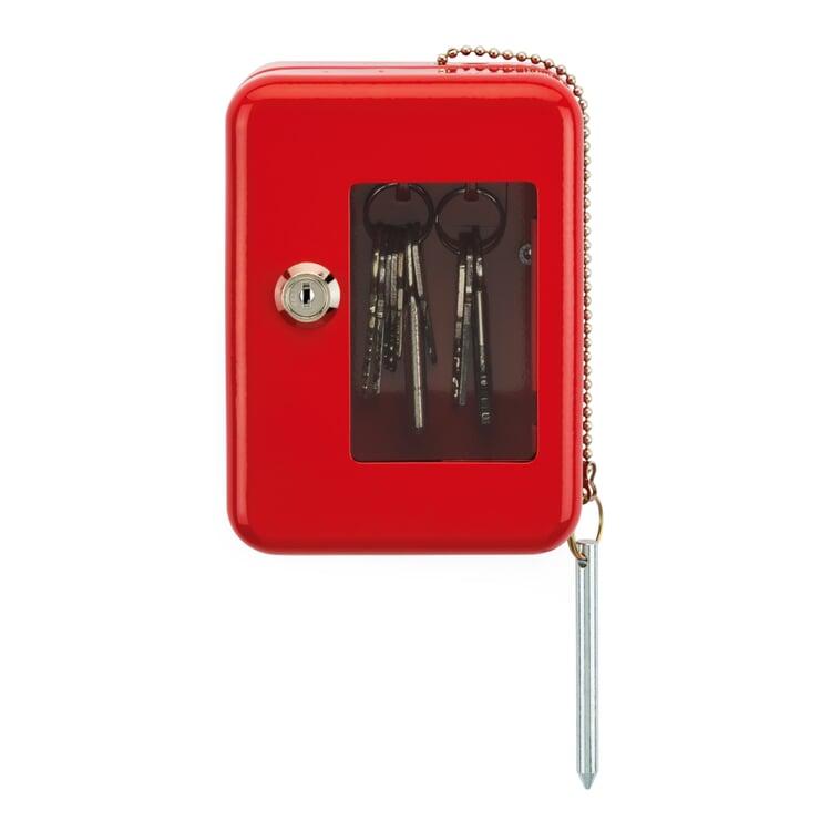 Schlüsselbox Rot