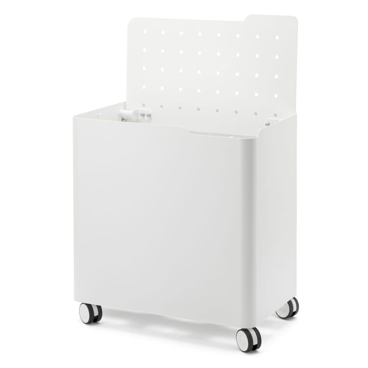 Laundry Basket on Wheels LAUNDRY