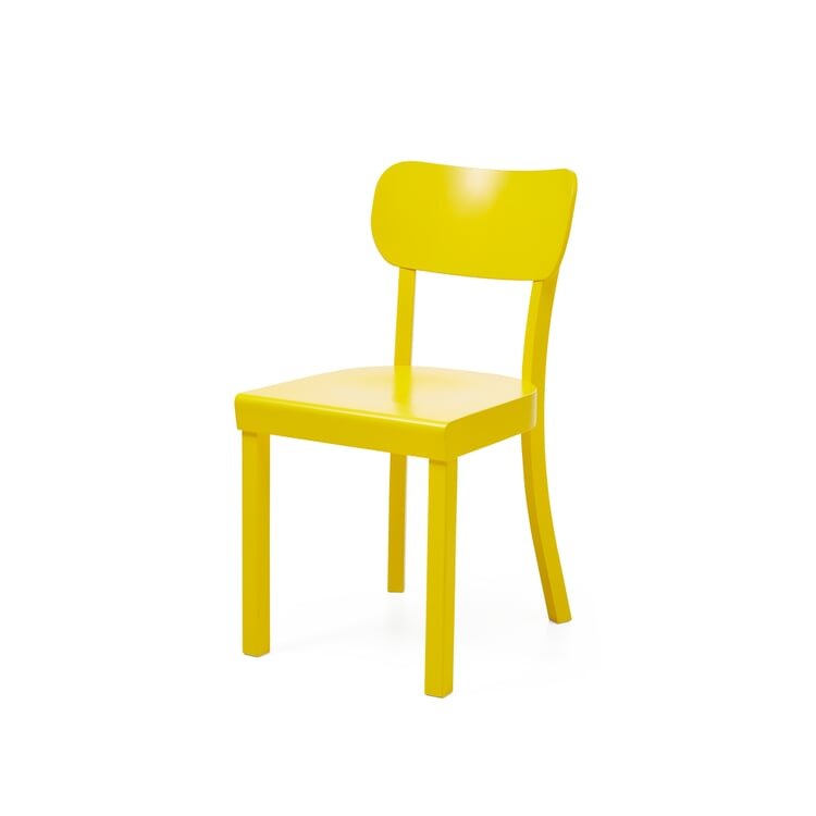 Frankfurt Kitchen Chair Green-Yellow