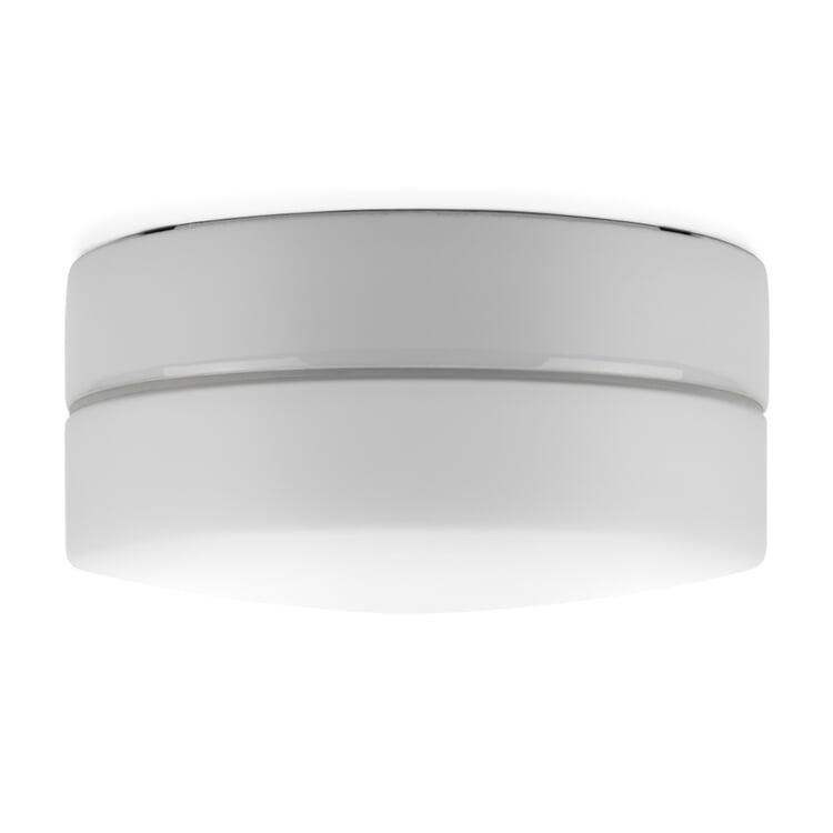 Wand- und Deckenleuchte Zylinder LED Fünf Weiß / Matt