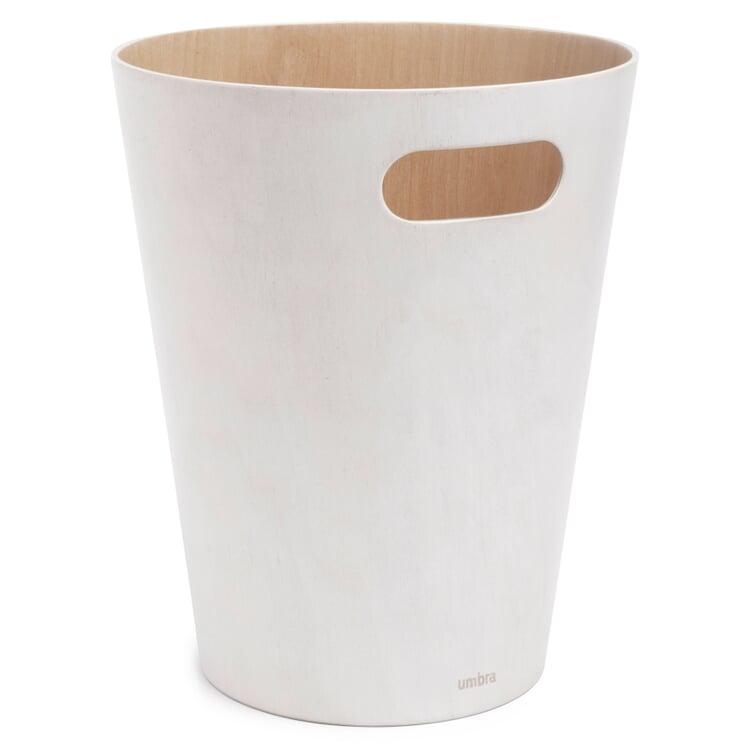Papierkorb Woodrow Weiß