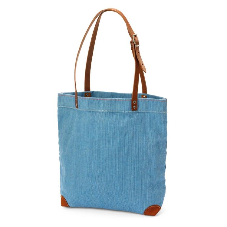 Handtasche Segeltuch Hellblau