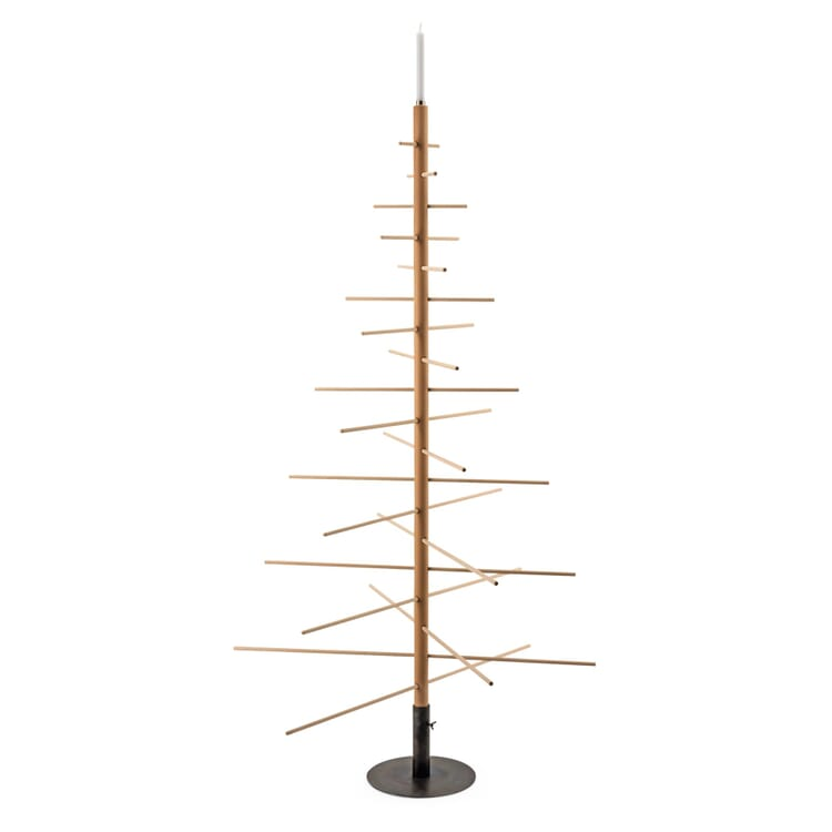 Sustainable Christmas Tree Made of Beechwood, Standing