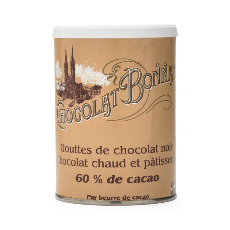 Chocolate Drops 60% Cocoa by Bonnat