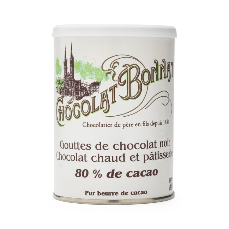 Chocolate Drops 80% Cocoa by Bonnat