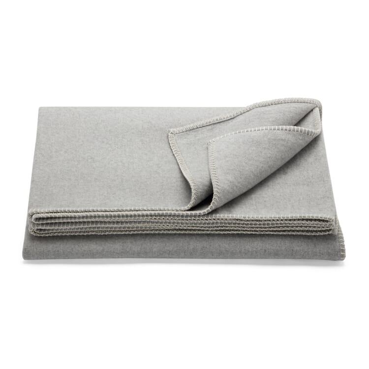 "Blanket ""Tau"", Light Grey"