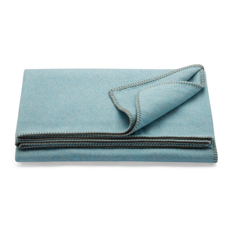 "Blanket ""Tau"", Ice Blue"