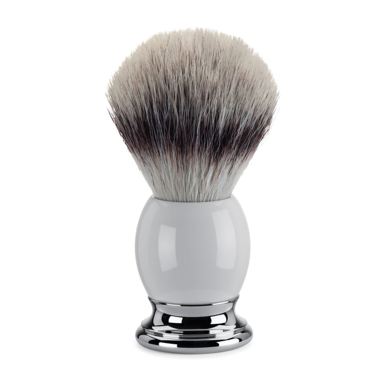 Shaving Brush with Synthetic Fibre Sophist by Mühle, Porcelain Handle