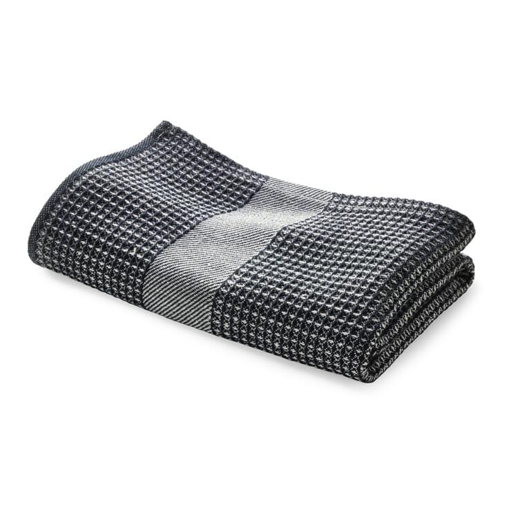 Handtuch Waffelpiqué Halbleinen