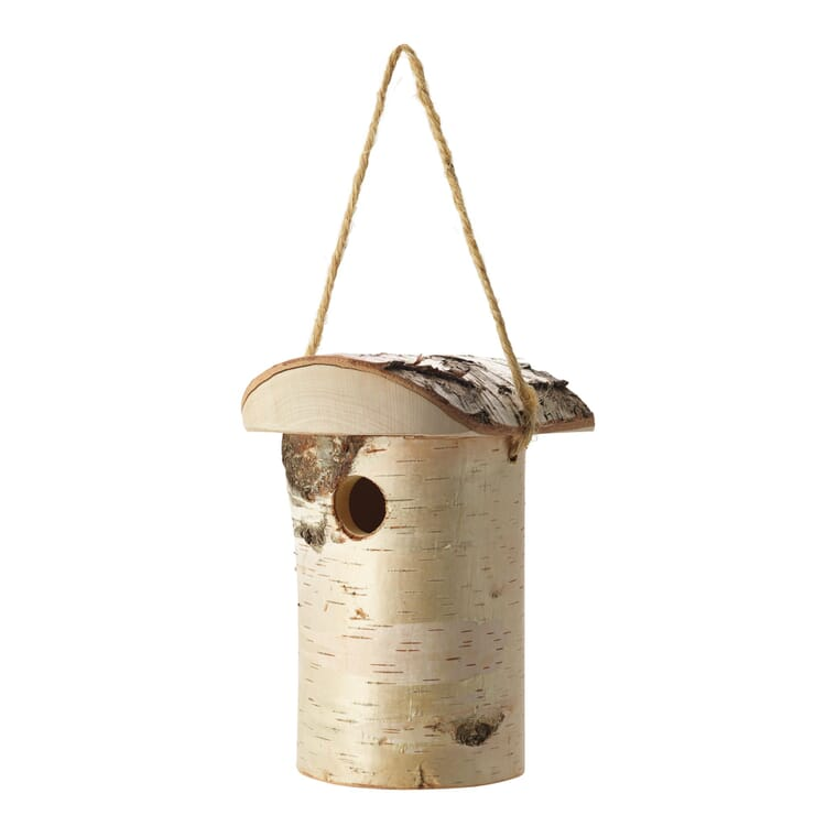 Tree Trunk Bird Nesting Box