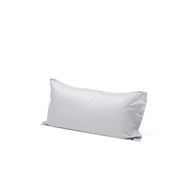 Satin Pillow Case, Light Grey