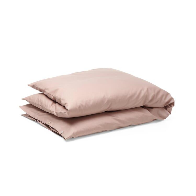 Satin Duvet Cover, Rosé