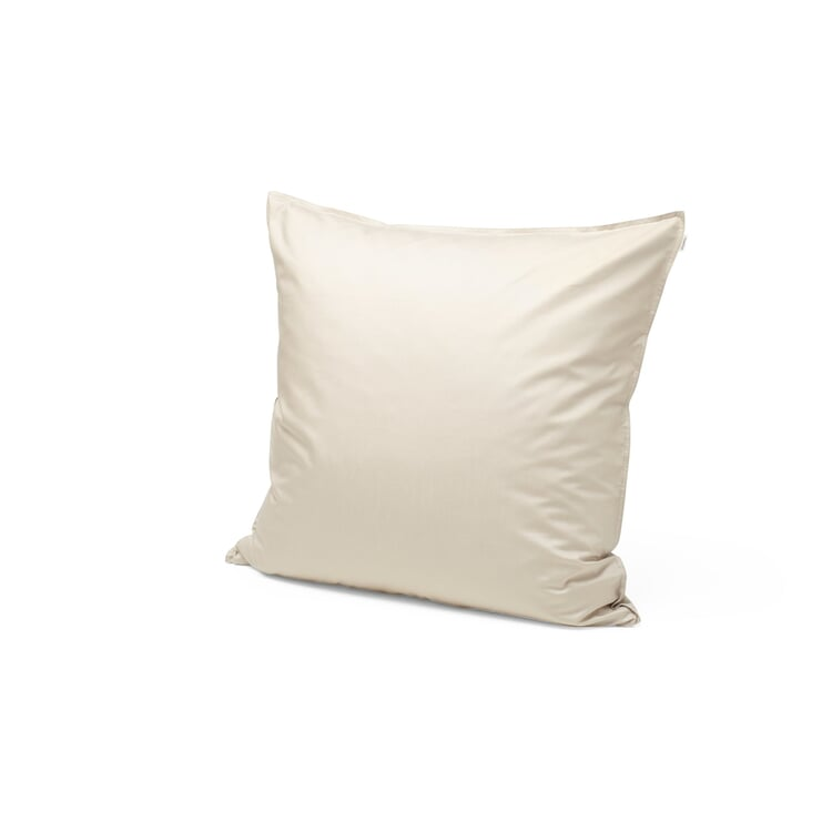 Satin Pillow Case Leight Beige?? 80 x 80 cm