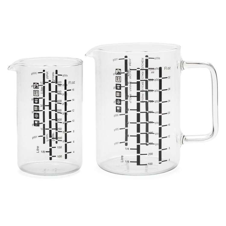 Measuring Beakers Verre (Two-Piece Set)