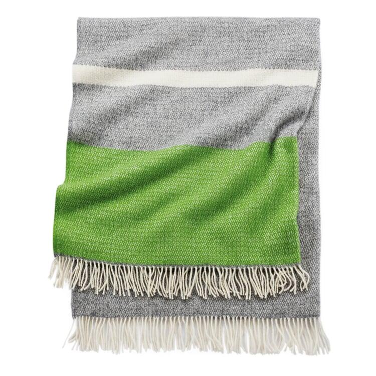 Blanket Illusion Green-Grey
