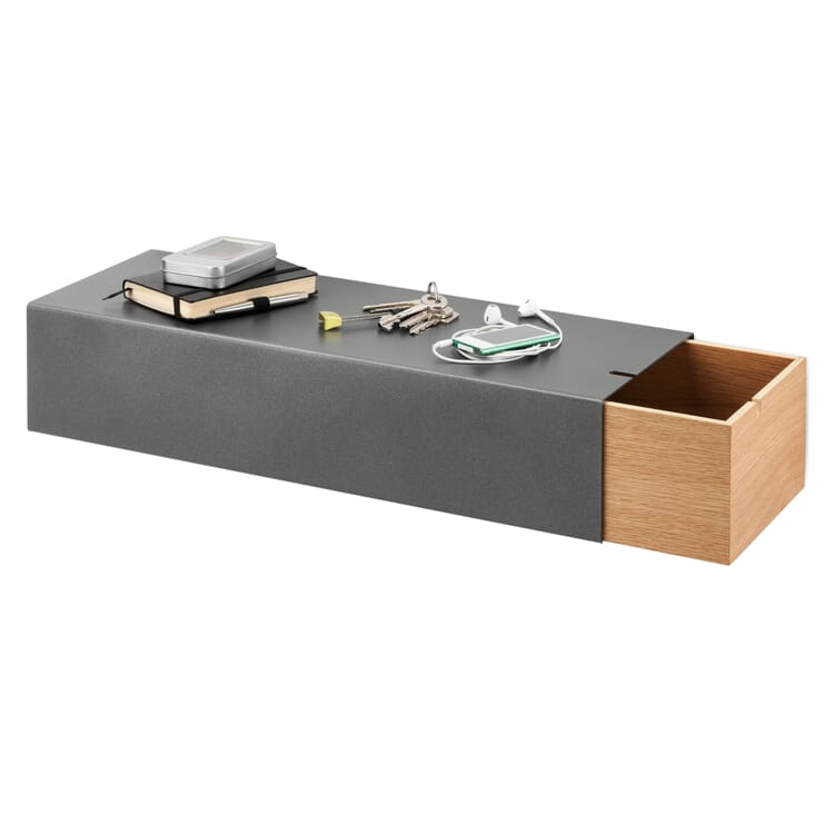 Drawer KONSOLE, Anthracite RAL DB mica