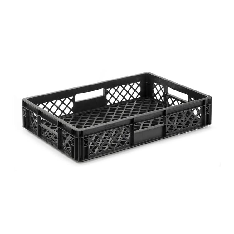 Container STOWAGE CRATE Small Black Grey RAL 7021