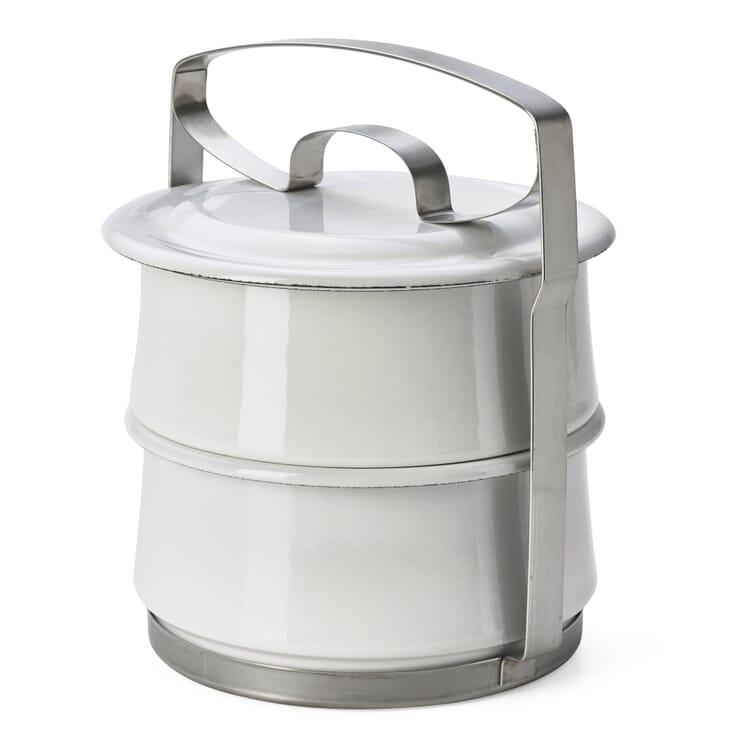 Enamel Lunch Box Carrier