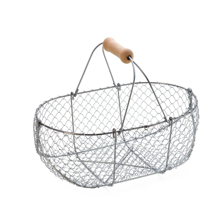 Braided Wire Basket, Small
