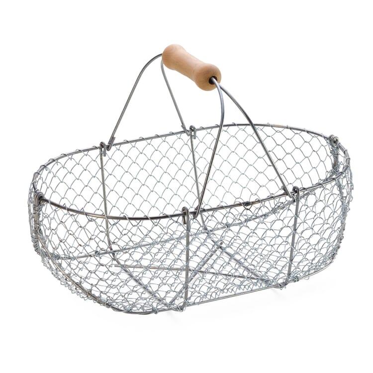 Braided Wire Basket, Medium