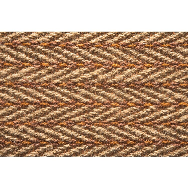 Teppichmuster Kokos gemustert