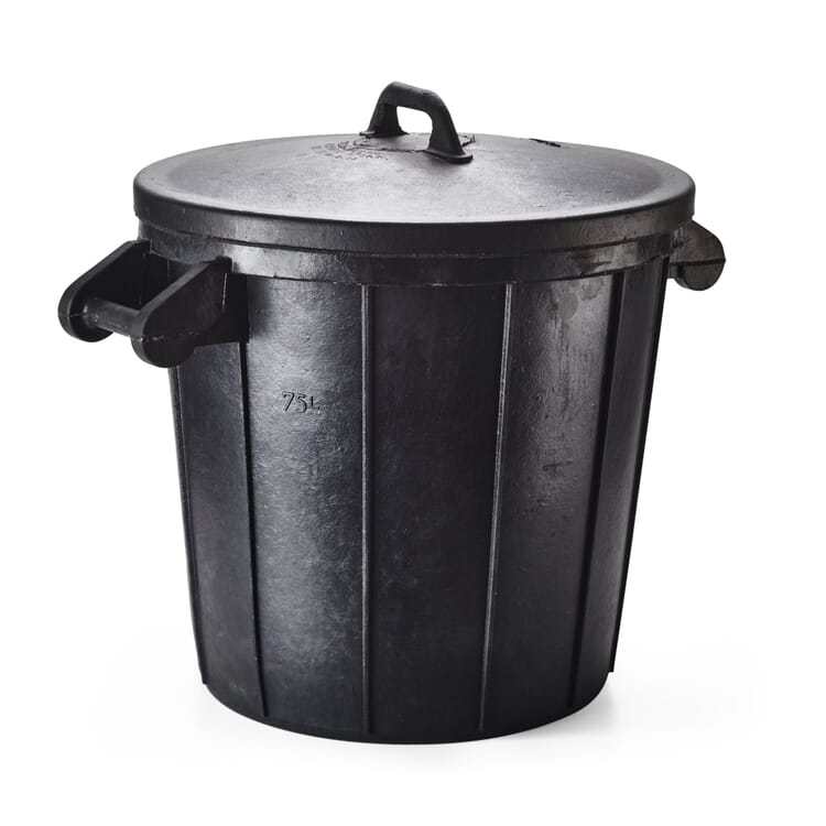 Rubber Barrel with a Lid