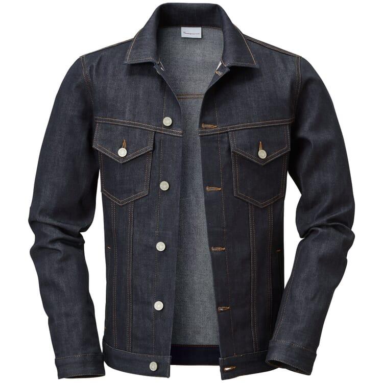 Men's Denim Jacket by Knowledge Cotton Apparel, Denim Blue