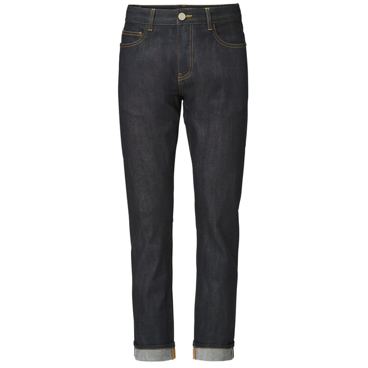 Knowledge Cotton Apparel Herrenjeans Straight, Denim Blue