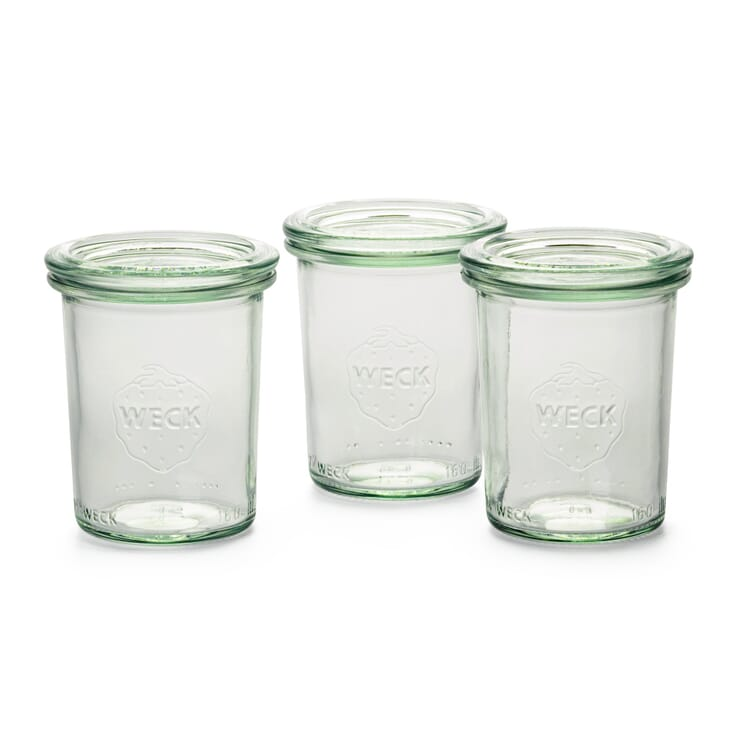 Weck® Preserving Jar for Turning Out (3 Pieces), 160 ml