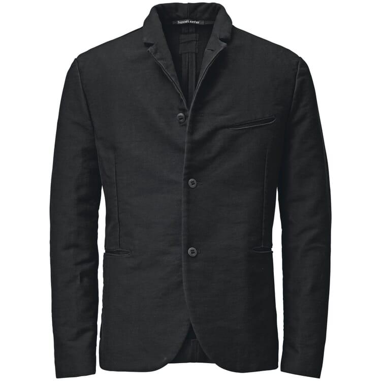 Men's Guild Cloth Jacket by Hannes Roether, Black