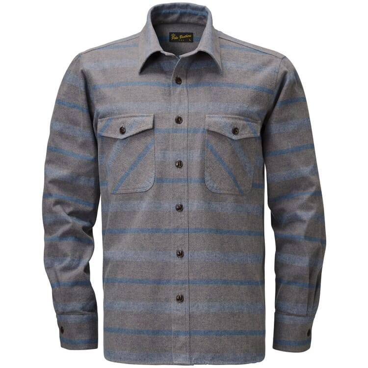 Pike Brothers Overshirt Flanell