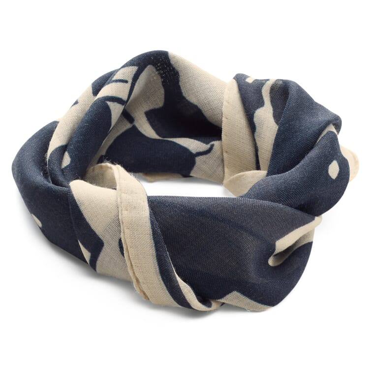 Men's Neckerchief Made of a Wool and Silk Fabric by G.R.P.
