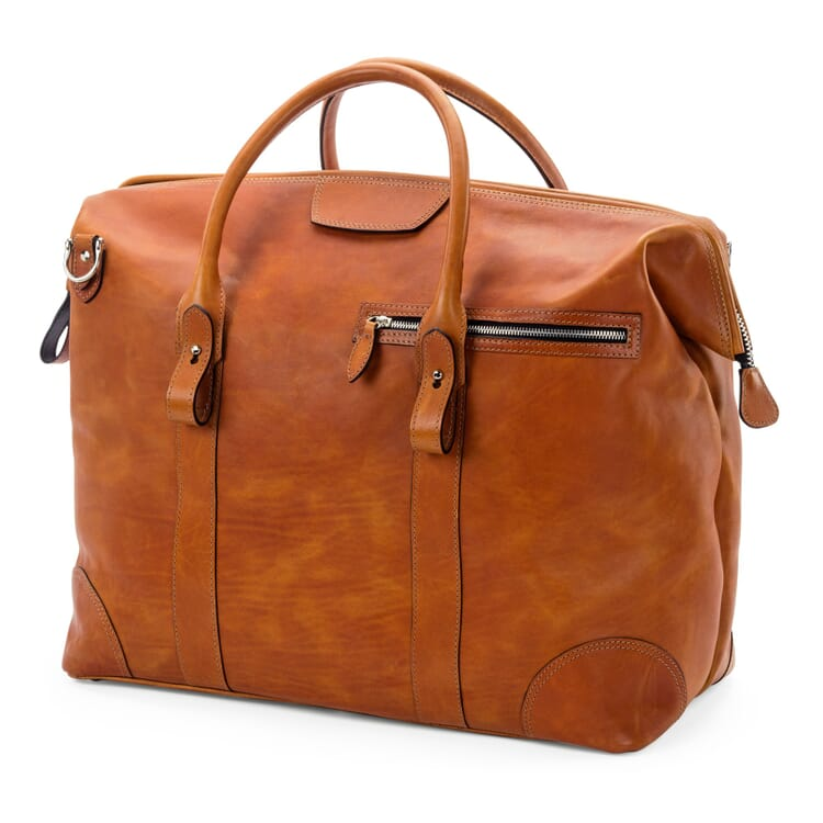 Weekender Bag Made of Bull Leather by Hammann