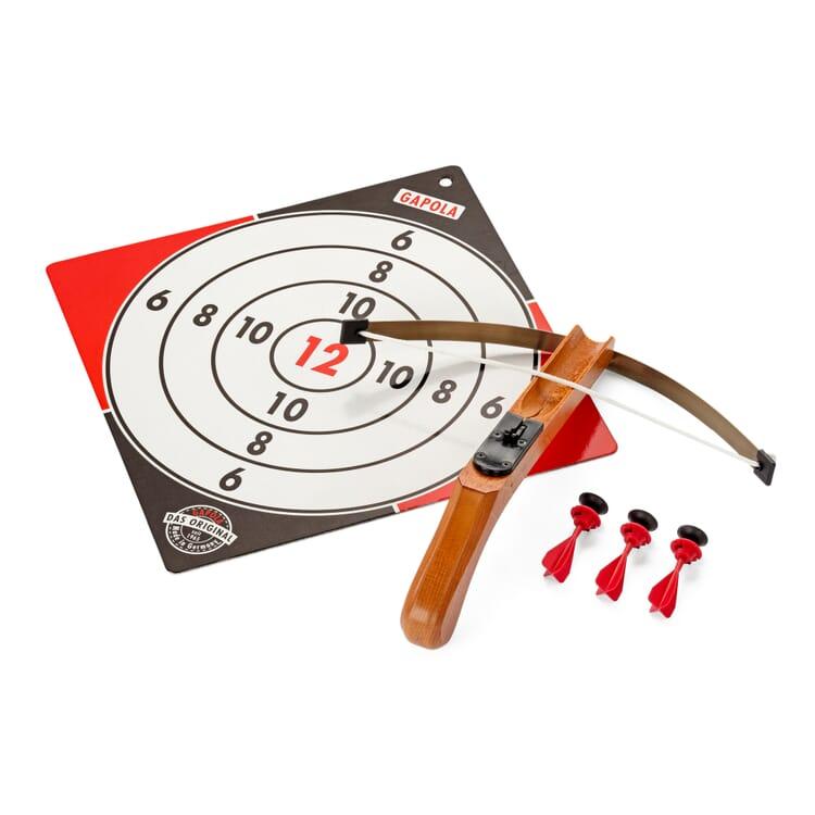 Crossbow Pistol Made of Wood