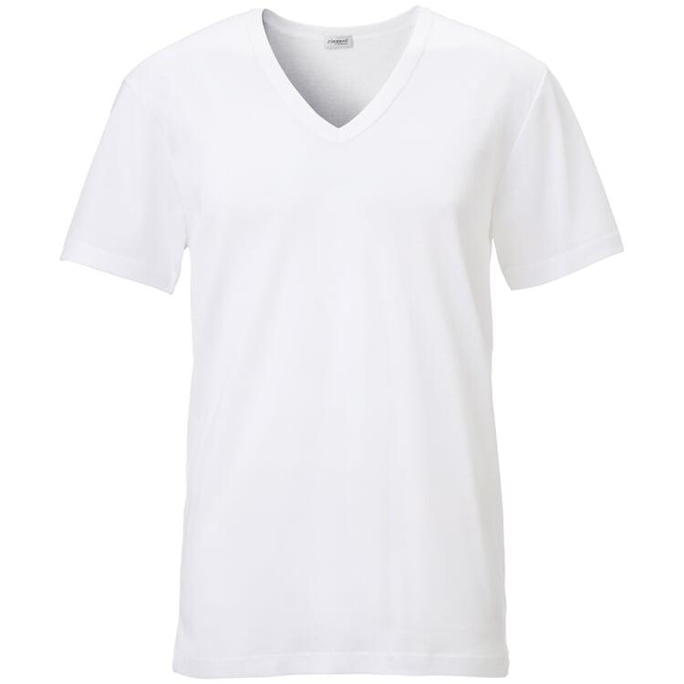 Zimmerli Herrenunterhemd V-Ausschnitt Weiß